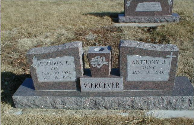 Anthony J Viergever 1946- & Dolores Elayne Lovell 1936-1997