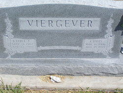 Christopher John Viergever 1906-1989 & Ethel F. Gooden 1907-1997